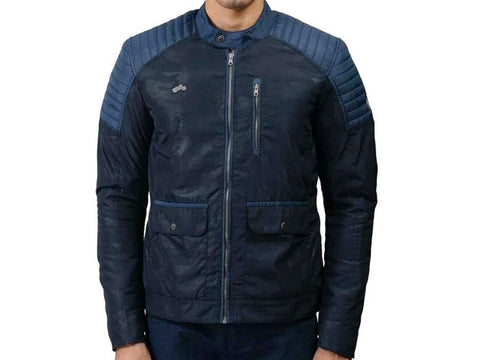 Brand New Genuine Royal Enfield Apex P Jacket Navy Blue