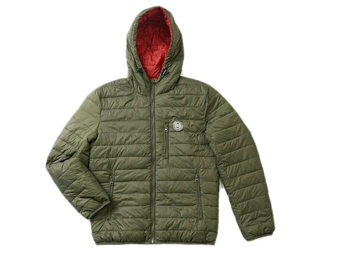 Genuine Royal Enfield U Turn Winter Jacket Red Green
