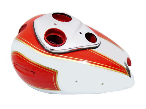 Quality Bare Metal Fuel Tank Fits Ariel Square Four Red Hunter Models available at Online at Royal Spares