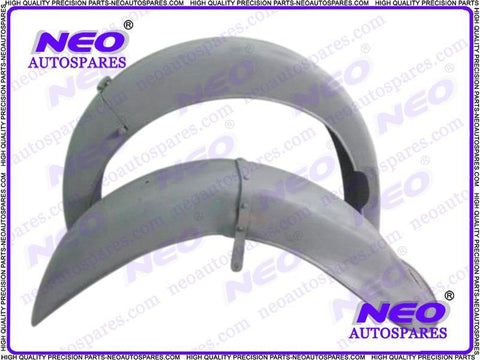Hi Quality Front & Rear Mudguard Ready To Paint Fits Vintage BMW,R71 Motorcycle