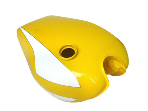 Yellow And White Fuel Petrol Tank For Fits Triumph Trident T160 Motorcycles available at Online at Royal Spares