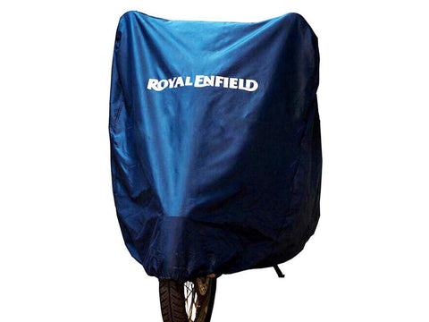 Brand New Bike Cover Navy Blue Royal Enfield Interceptor 650cc Water Resistant
