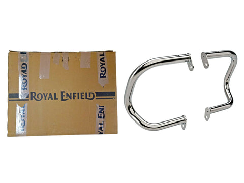 Royal Enfield GT 650 Continental and Interceptor Compact Engine Guard Chrome