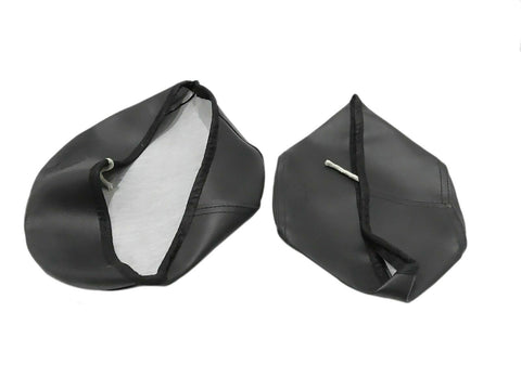 Brand New Royal Enfield Classic Front And Rear Black Seat Cover