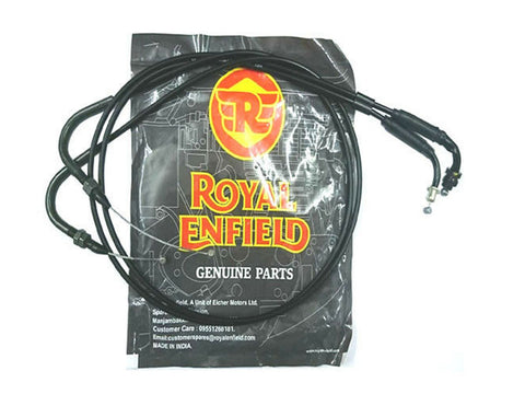 Brand New Royal Enfield GT Continental Throttle Cable Part No. 585620