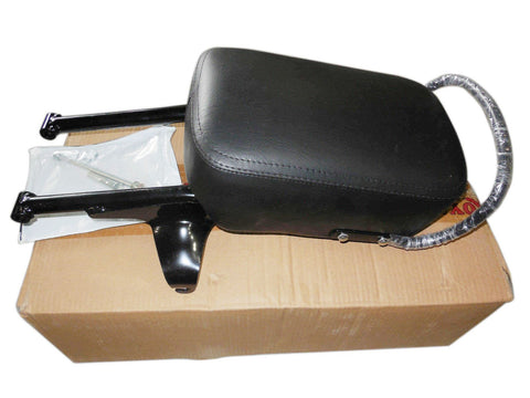 Brand New Royal Enfield C5 Classic Rear Back Pillion Passenger Seat Kit Black 597447