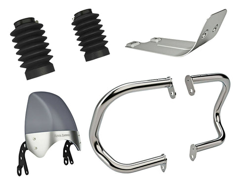 Brand New Royal Enfield Interceptor 650 Accessories Combo Pack 4 Pcs