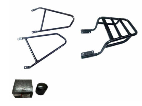 Royal Enfield 650cc Interceptor Pannier Mounting & Luggage Rack + Free Oil Filter