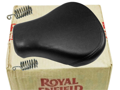 Royal Enfield Classic 500cc Front Rider Solo Seat With Spring #591066/F