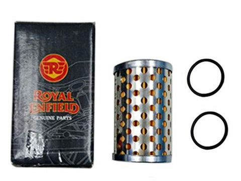 Royal Enfield GT Continental GT535 Genuine Oil Filter Element & Seals #888414