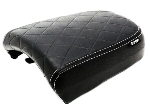 Genuine Black Touring Passenger Seat For Royal Enfield Thunderbird