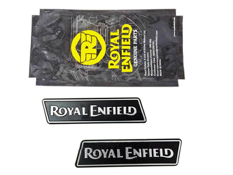 Genuine Pair of  Top Frame Decals LH & RH - Royal Enfield Himalayan