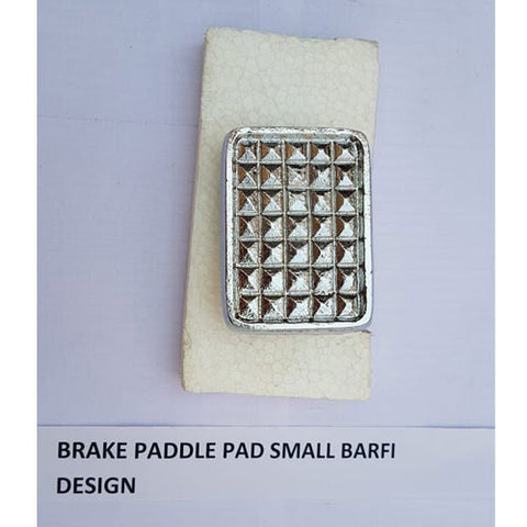 Brand New Brake Pedal Pad Small Barfi Design Bajaj Chetak