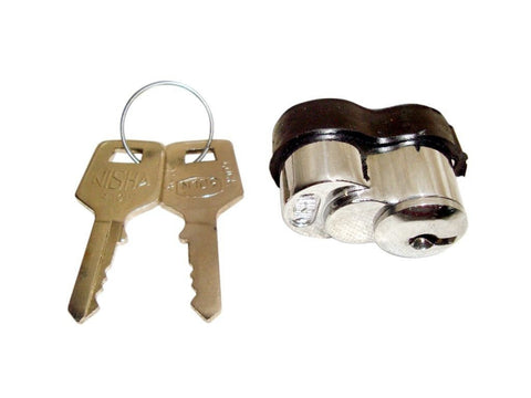 Spare Wheel Lock+Keys Locking Nut Fits Vespa/Lambretta PX/SX/GP/LI Models available at Online at Royal Spares