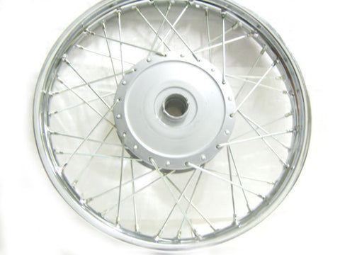 "Brand New Complete Genuine Front Wheel With 7"" Hub Fits Royal Enfield available at Royal Spares"