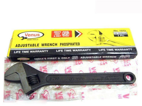 "10"" 250mm Heavy Duty Adjustable Shifting Spanner Wrench Plumbing Mechanic available Online at Royal Spares"