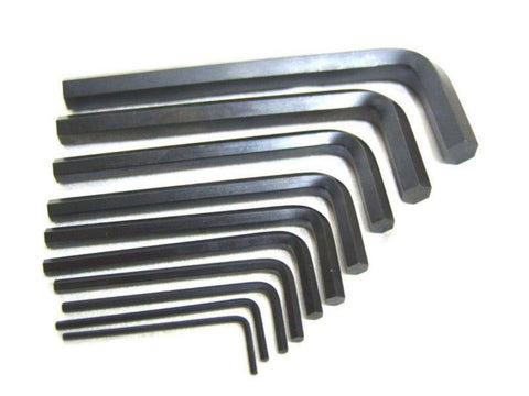 10 Piece Allen Key Set Imperial Must Have Garage Tool available Online at Royal Spares