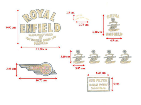 Brand New Customized Brass Chain Case Inspection Plug Fits Royal Enfield available at Online at Royal Spares