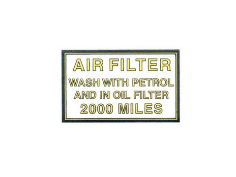 Brand New Petrol Tank Top Sticker Fits Rear Mudguard Early Pre 1950s and 1950s Bullets available at Online at Royal Spares