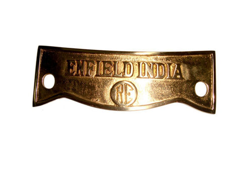Brass Customized Front Mudguard Number Plate Fits Royal Enfield, BSA available at Online at Royal Spares