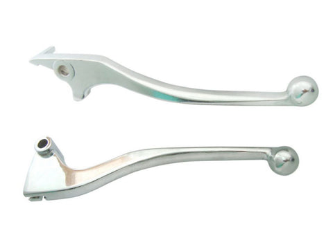 Chrome Plated Clutch & Brake Lever Set Fits Royal Enfield Uce Model Classic available Online at Royal Spares