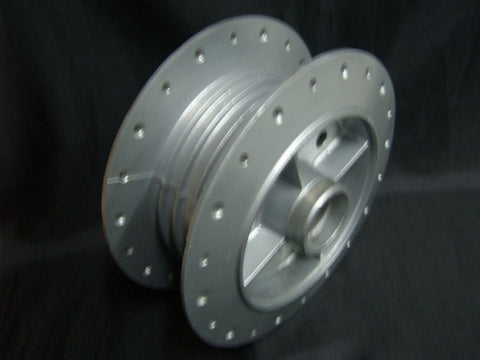 "New 6"" Genuine Centre Rear Hub New Fits Old Royal Enfield available at Online at Royal Spares"