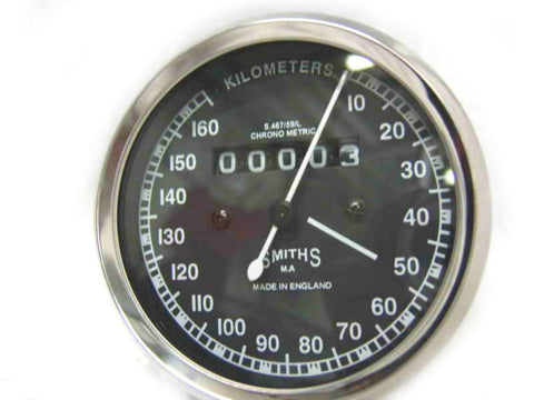 Smiths Speedometer 0-160KM/HR Fits Royal Enfield available at Online at Royal Spares