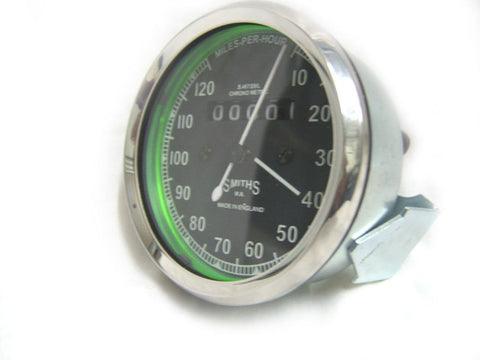 0-120 MPH Smiths Speedometer Fits Enfield,BSA,Triumph,Norton,AJS,Matchless available at Online at Royal Spares