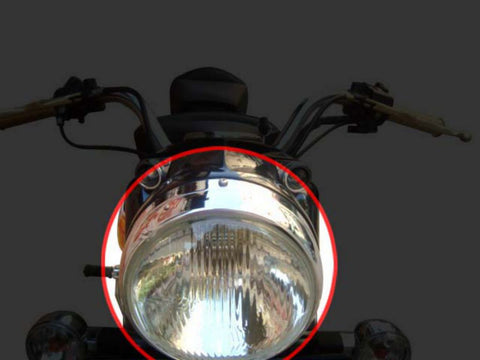 "New 7"" Head Lamp Unit - Sealed Beam Assly Fits Royal Enfield Motorcycles available at Online at Royal Spares"