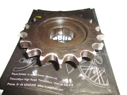 New Final Drive Sprocket 17T Fits Royal Enfield 500cc Model available at Online at Royal Spares