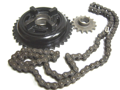 New Long lasting Diamond Chain & Sprocket Kit Fits Royal Enfield available at Online at Royal Spares