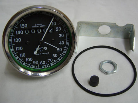 New Classic Smiths Speedometer 0-150 M/Hr Fits Vintage British Bikes available at Online at Royal Spares