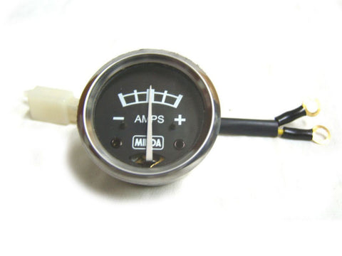 New Rare Black Dial Ammeter Brand New Minda Fits Royal Enfield available at Online at Royal Spares