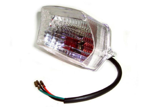 New Complete Clear Rear Tail Light Assembly Fits Royal Enfield available at Online at Royal Spares