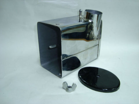 Chrome Plated Air Filter Box Fits Royal Enfield available at Online at Royal Spares