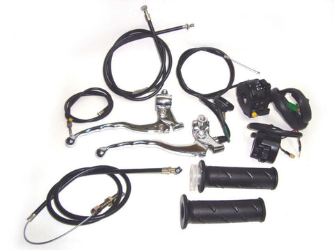 Handlebar Control Conversion Kit -Magura To Minda Fits Vintage Royal Enfield Bike available at Online at Royal Spares