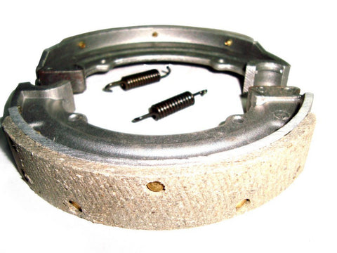 New 6 Inch Brake Shoe Lining + Springs & Rivets Fits Royal Enfield available at Online at Royal Spares