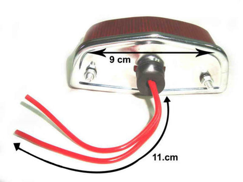 New Stop/Tail Lamp Assembly Fits Royal Enfield Classic 1960s Models available at Online at Royal Spares