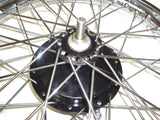 Complete  Half Width Front Wheel And Brake Assembly Fits Royal Enfield available at Online at Royal Spares