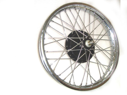 Half Width Wheel Assembly Fits Royal  Enfield. available at Online at Royal Spares