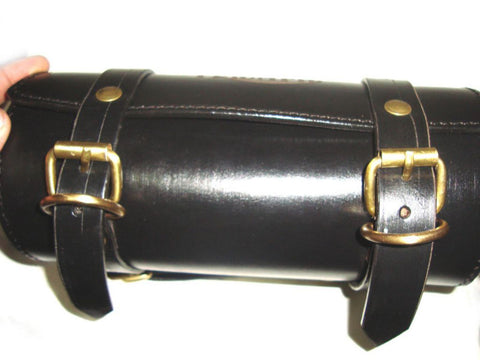 New Customized Genuine Leather Tool Roll Bag Fits Triumph available at Online at Royal Spares