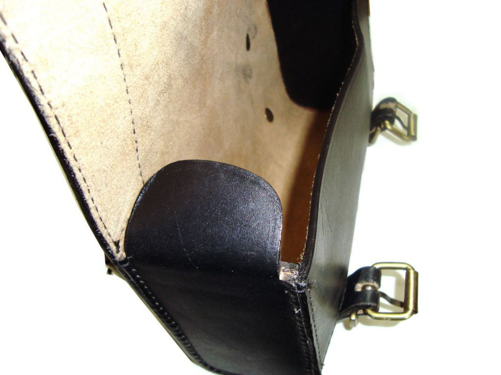 532125a7c ... New Customized Genuine Black Leather Tool Bag Fits Norton available at  Online at Royal Spares ...