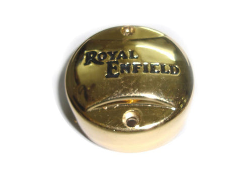 Design Golden Finish Points Cover Fits Royal Enfield available at Online at Royal Spares
