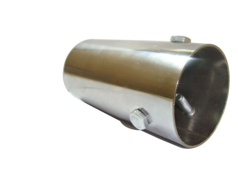 New Adjustable Chromed Silencer End Cap Fits Royal Enfield available at Online at Royal Spares