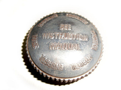 Inspection/Oil Tank Filler Cap Scripted Fits Vintage BSA Models available at Online at Royal Spares