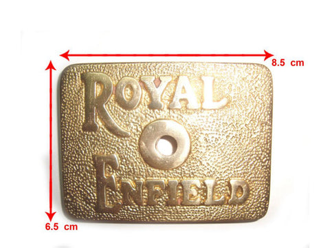 Trade Pack -10 Brass Tappet Cover  Fits Royal Enfield Logo available at Online at Royal Spares
