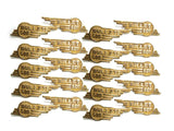 New Winged Toolbox Badges (20) Fits Royal Enfield available at Online at Royal Spares