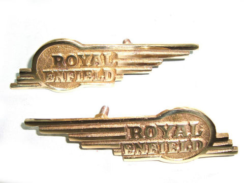 Winged Badge Trade Pack Fits Universal Royal Enfield available at Online at Royal Spares