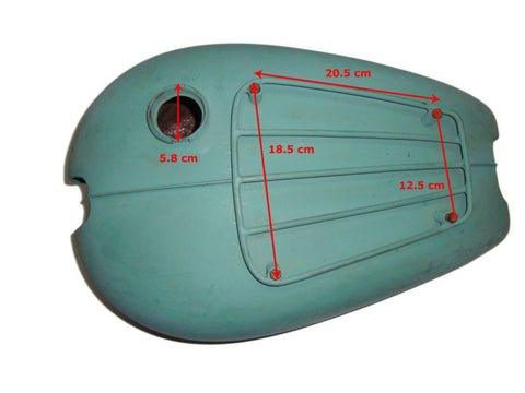 Petrol/ Gas Tank Fits Triumph 5T Speed Twin Model available at Online at Royal Spares