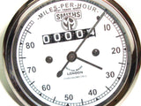 White Face Speedometer 0-80 KM/HR Smiths Fits Royal Enfield available at Online at Royal Spares